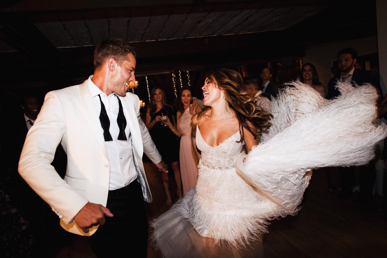 Justin Hartley Wedding in People Magazine at Calamigos Ranch - 9