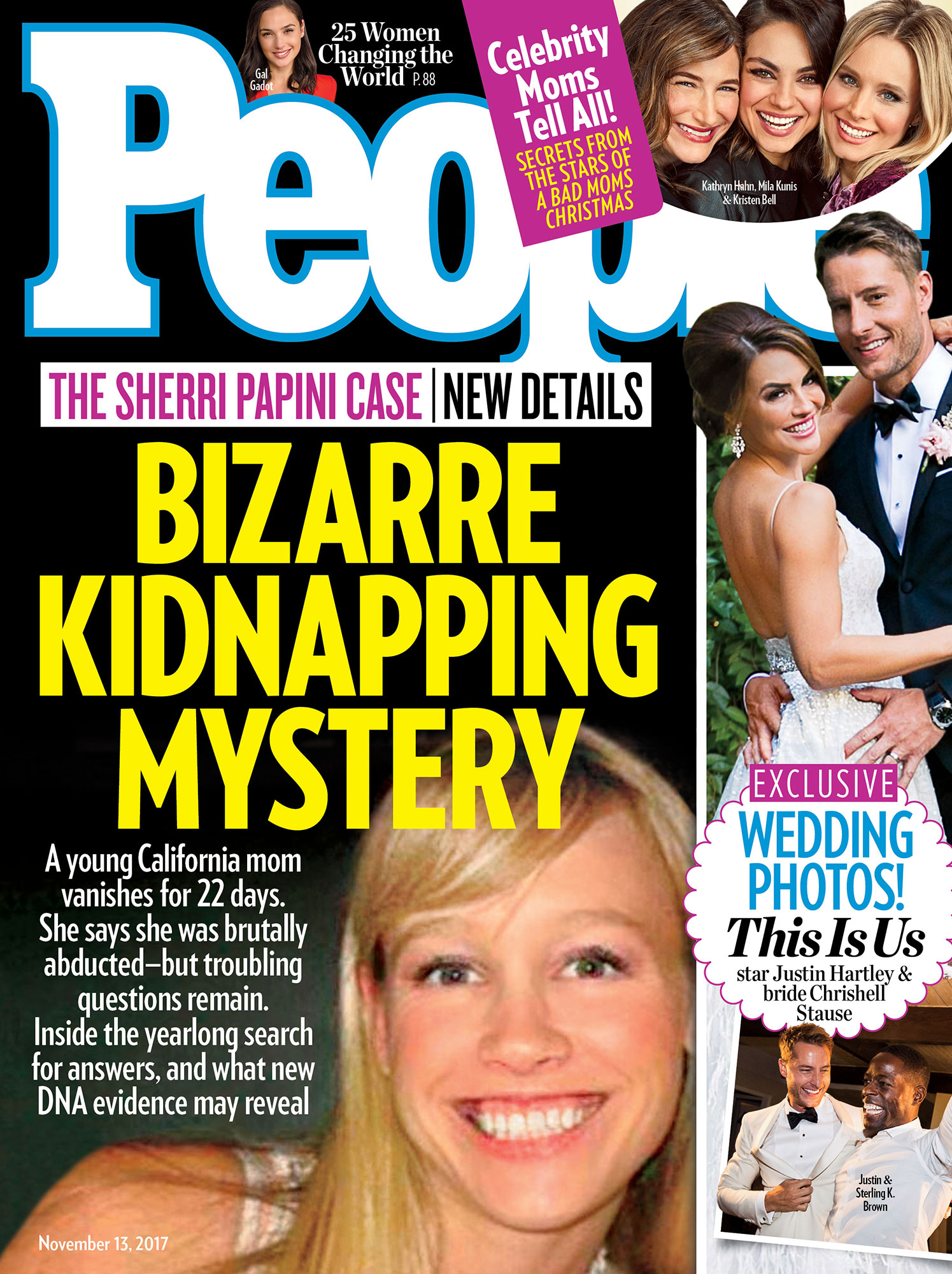 Justin Hartley Wedding on Cover of People Magazine