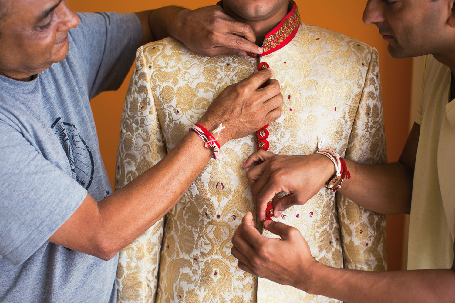 Paradisus Cancun Indian Wedding - Groom's Ceremony Accessories