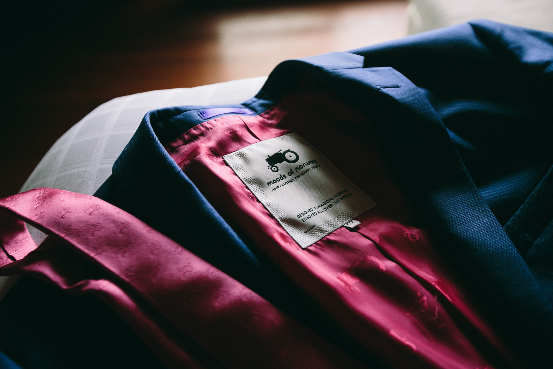 Four Seasons Bora Bora Wedding - Suit jacket and tie