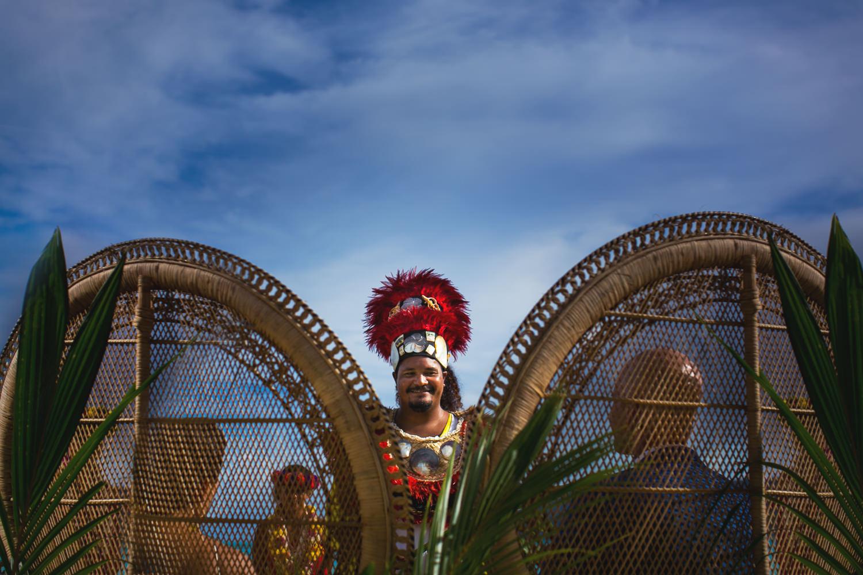 Four Seasons Bora Bora Wedding - Traditional Wedding Ceremony