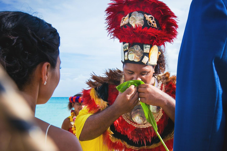 Four Seasons Bora Bora Wedding - Gorgeous Wedding Ceremony