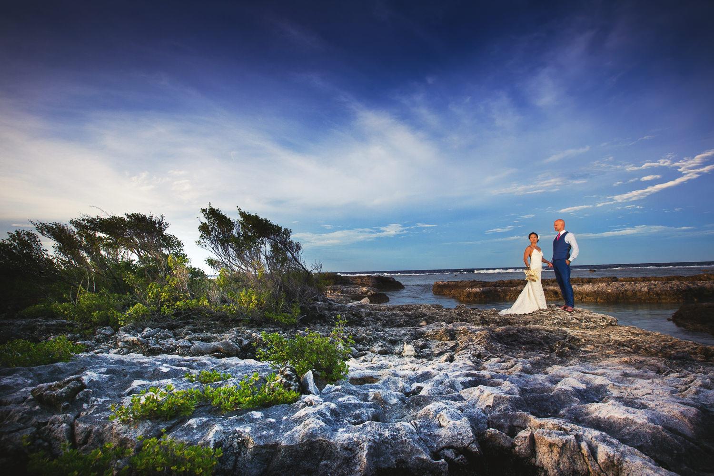 Four Seasons Bora Bora Wedding - Together under the sky