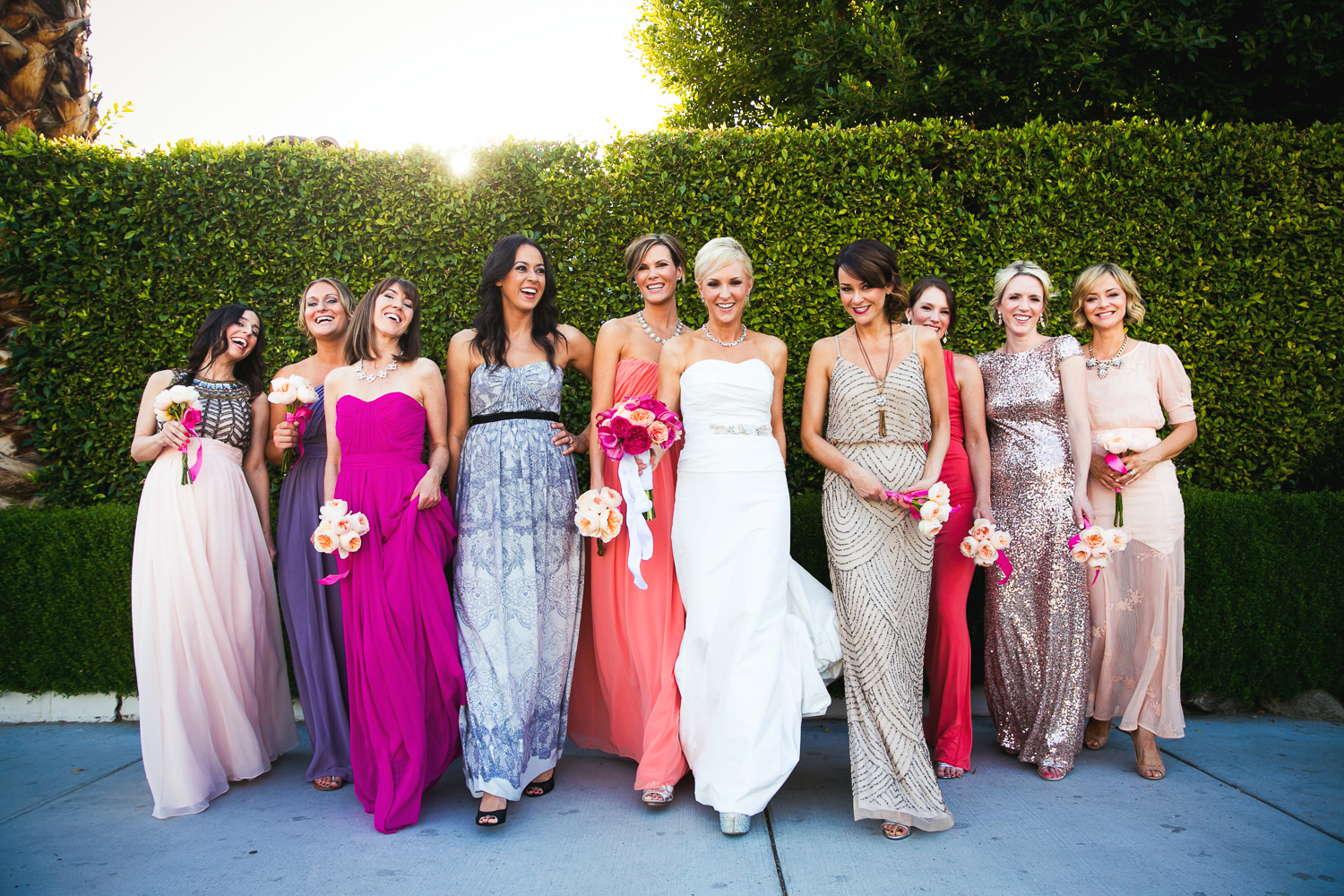 Avalon Palm Springs Photographer - Bridal Party
