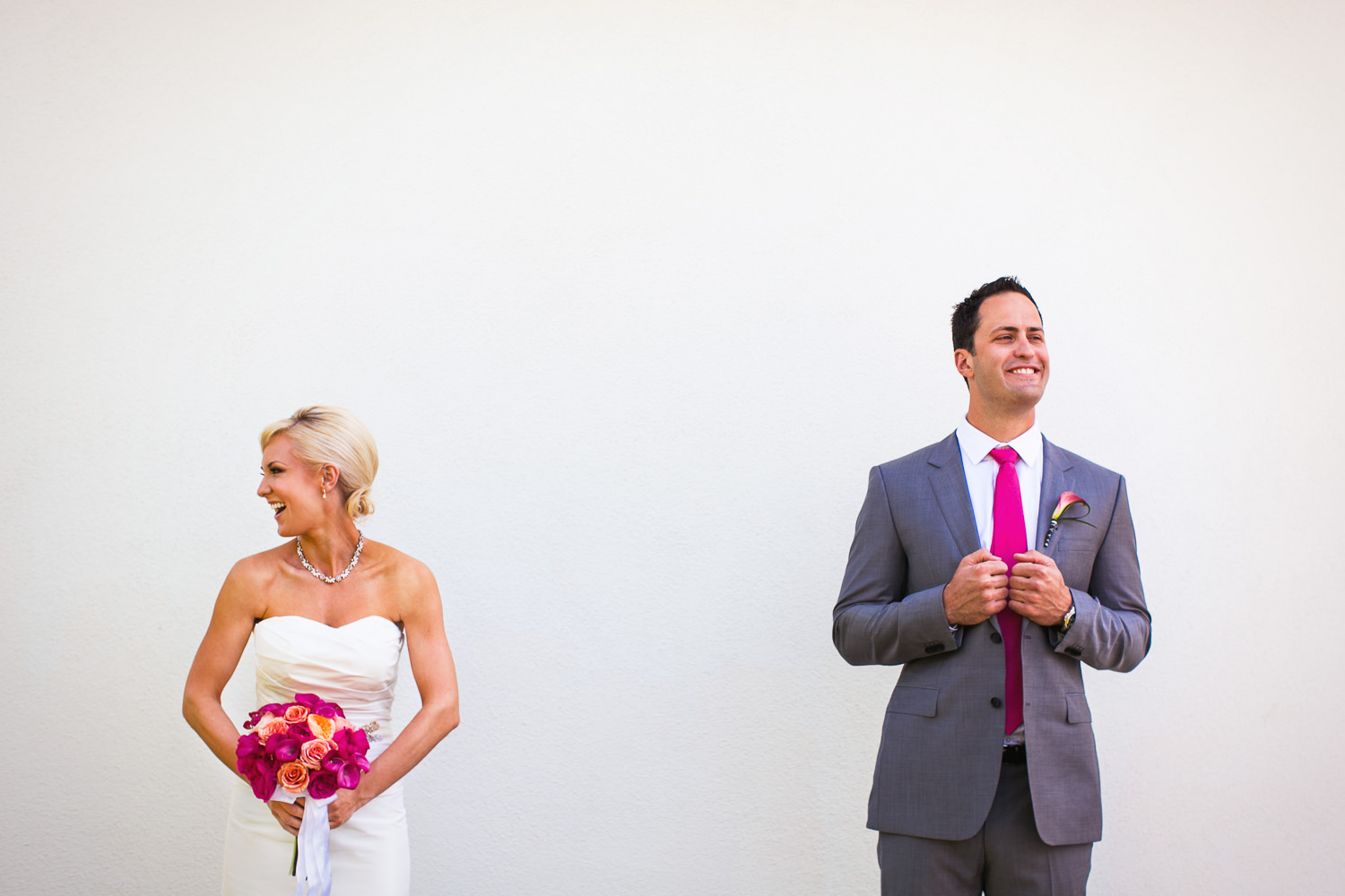 Avalon Palm Springs Photographer - Bride and Groom Portrait
