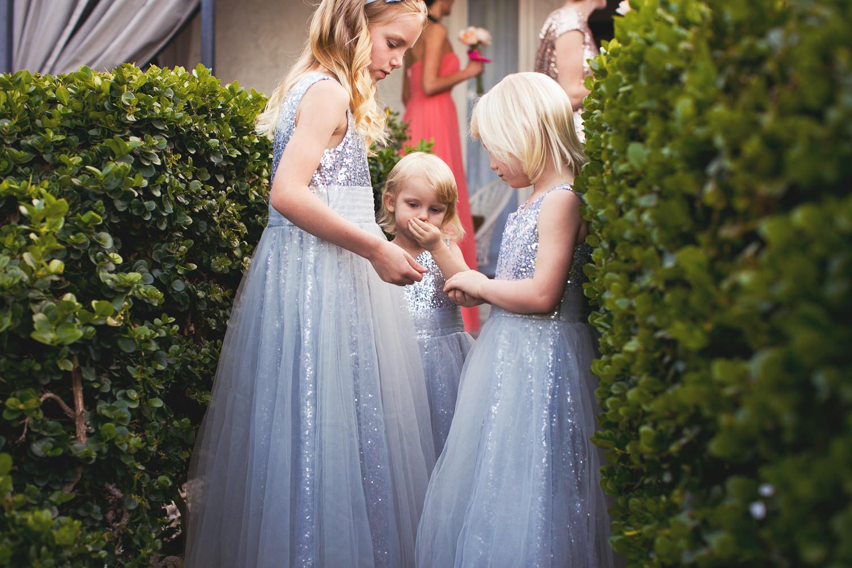 Avalon Palm Springs Photographer - Flower girls