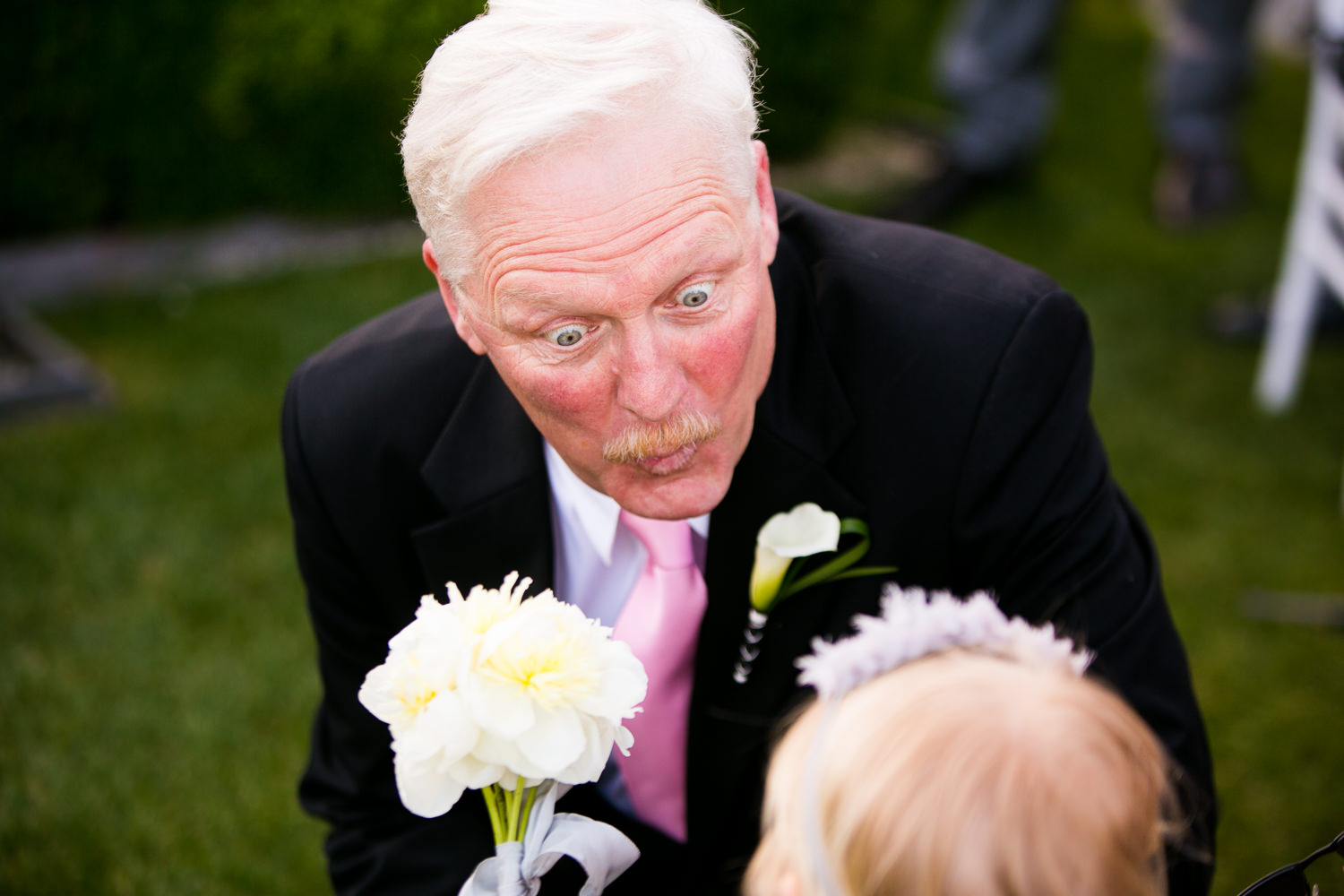 Avalon Palm Springs Photographer - Great shot of Brides Father