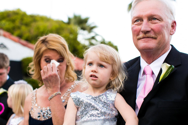 Avalon Palm Springs Photographer - Brides parents emotions