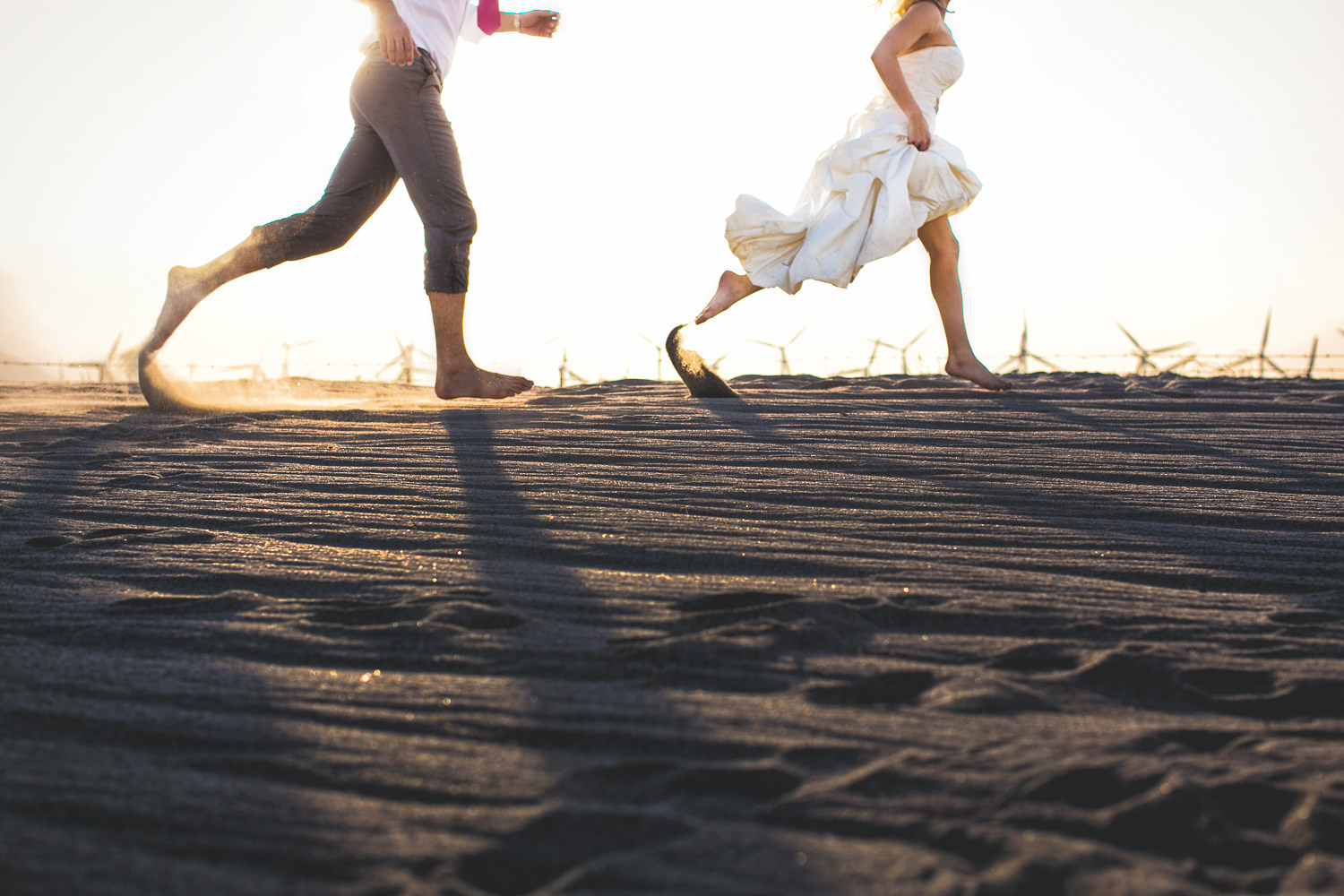 Avalon Palm Springs Photographer - Running in the sand