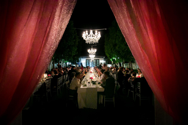 Avalon Palm Springs Photographer - Beautiful wedding reception