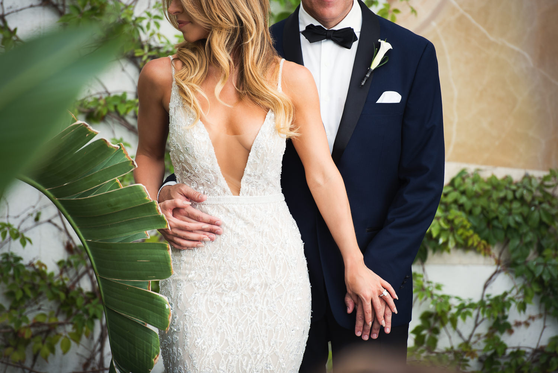 Viceroy Los Cabos Wedding - Groom and bride together