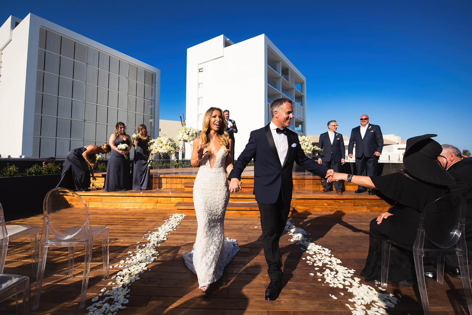Viceroy Los Cabos Wedding - Just married