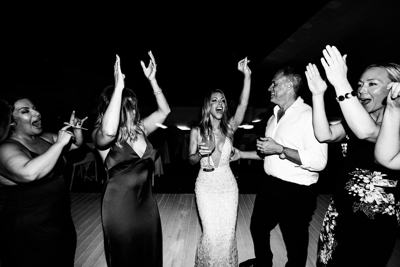 Viceroy Los Cabos Wedding - Guests dancing at wedding reception