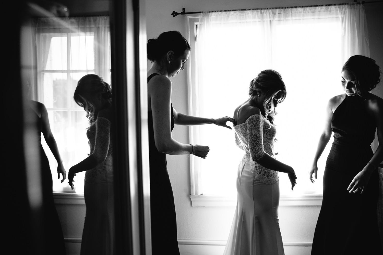 Ebell Long Beach Wedding - Bride getting ready