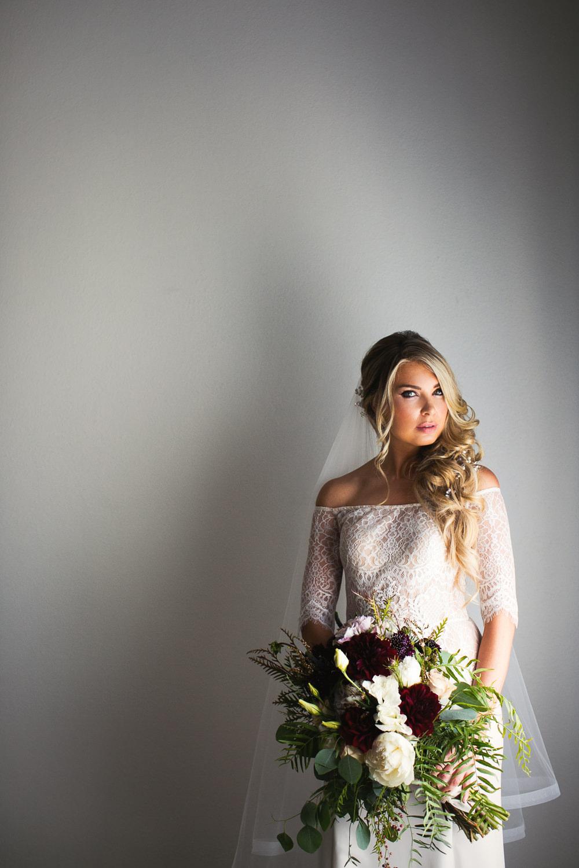 Ebell Long Beach Wedding - Bride in her gorgeous dress
