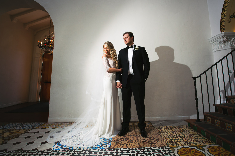 Ebell Long Beach Wedding - Bride and Groom