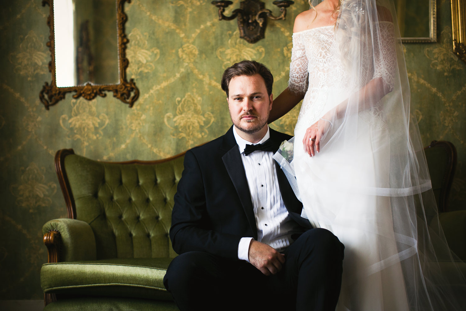 Ebell Long Beach Wedding - Stunning shot on the couch