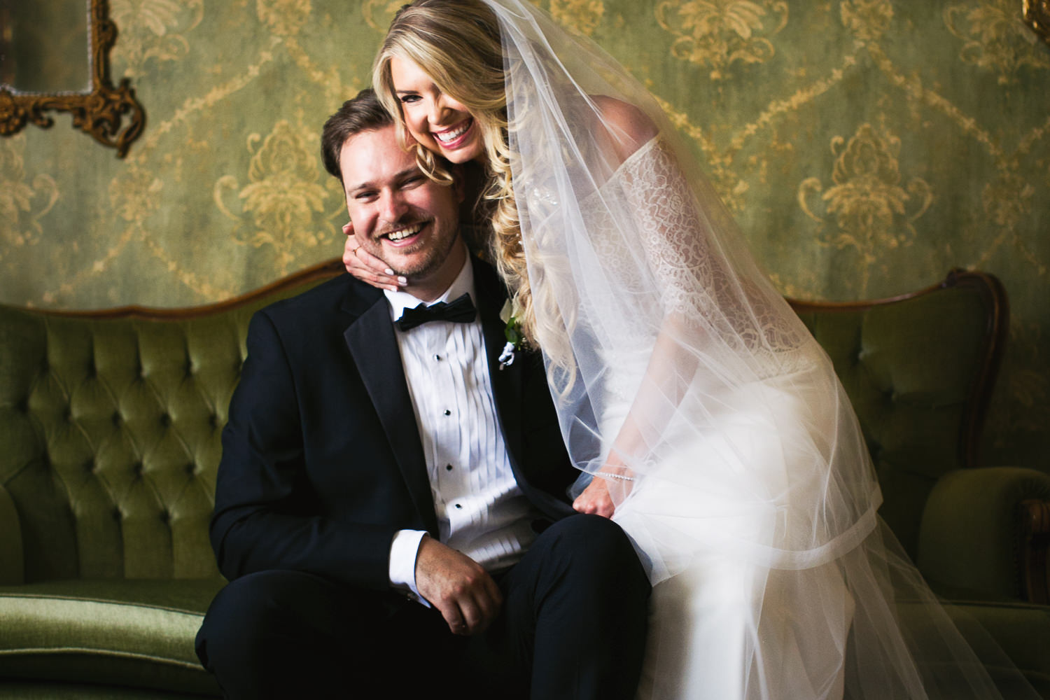 Ebell Long Beach Wedding - Beautiful portrait of the two of them