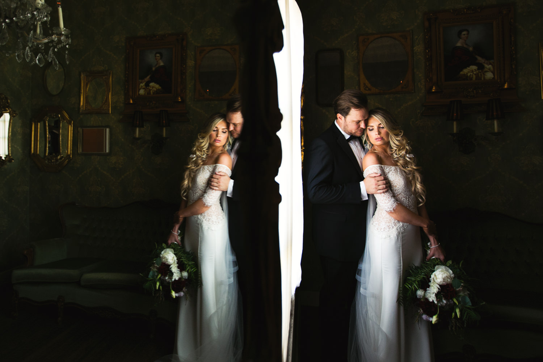 Ebell Long Beach Wedding - Another great mirror shot