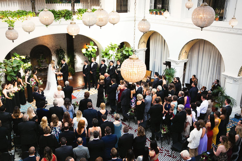 Ebell Long Beach Wedding - Gorgeous wedding ceremony