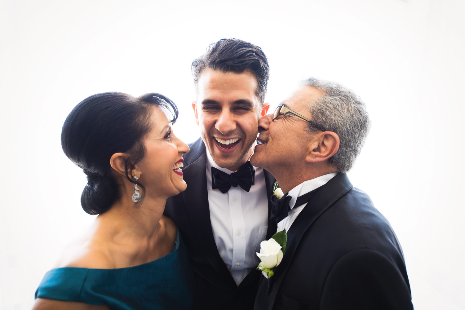 Persian family photo at a Bently Reserve Wedding