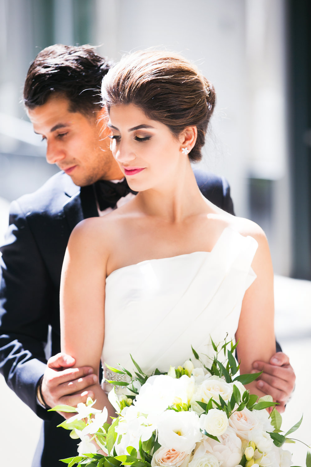 Beautiful couple at their Bently Reserve Wedding