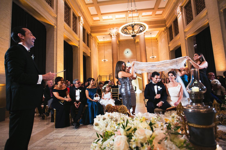 Bently Reserve wedding ceremony