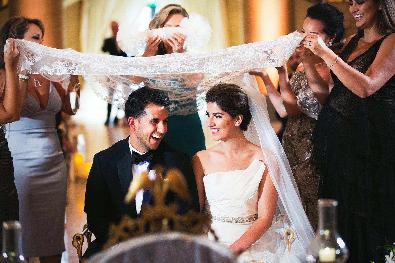Bently Reserve Wedding Persian Sugar ceremony