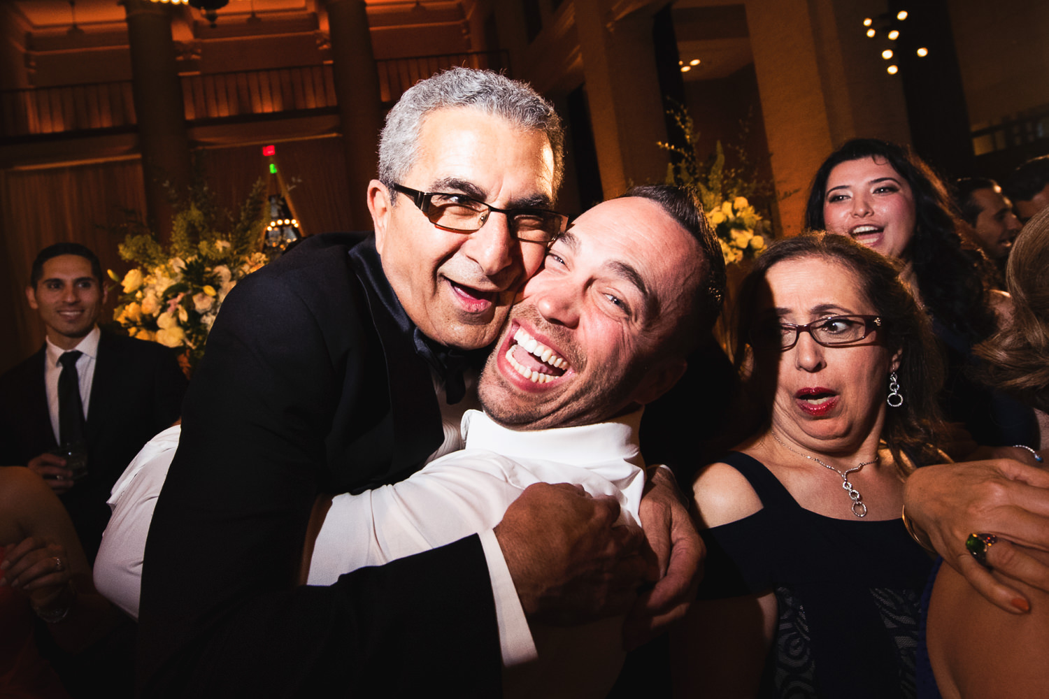 Crazy times at this Bently Reserve Wedding