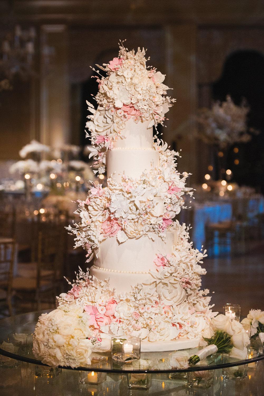 Incredible Breakers Palm Beach Wedding Cake