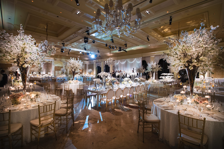 Breakers Palm Beach Wedding Reception in the Venetian Ballroom