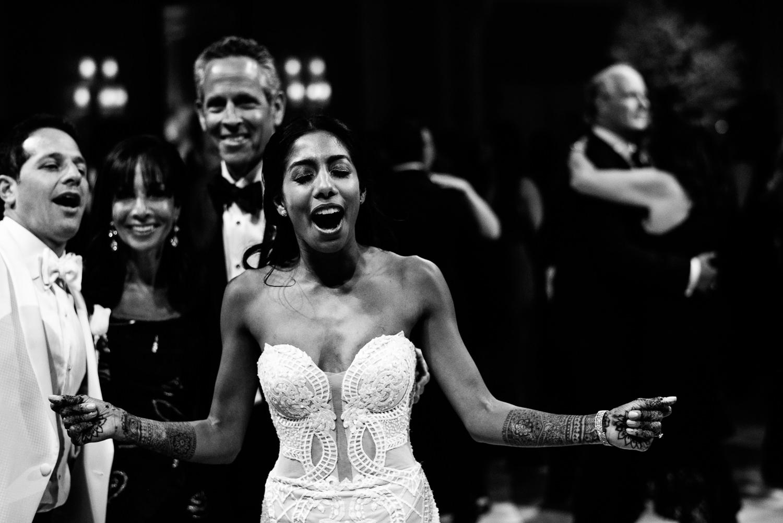 Bride dancing at her Breakers Palm Beach Wedding