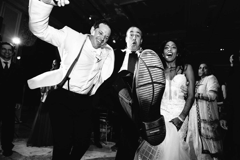 Fun Dancing shots at Breakers Palm Beach Wedding