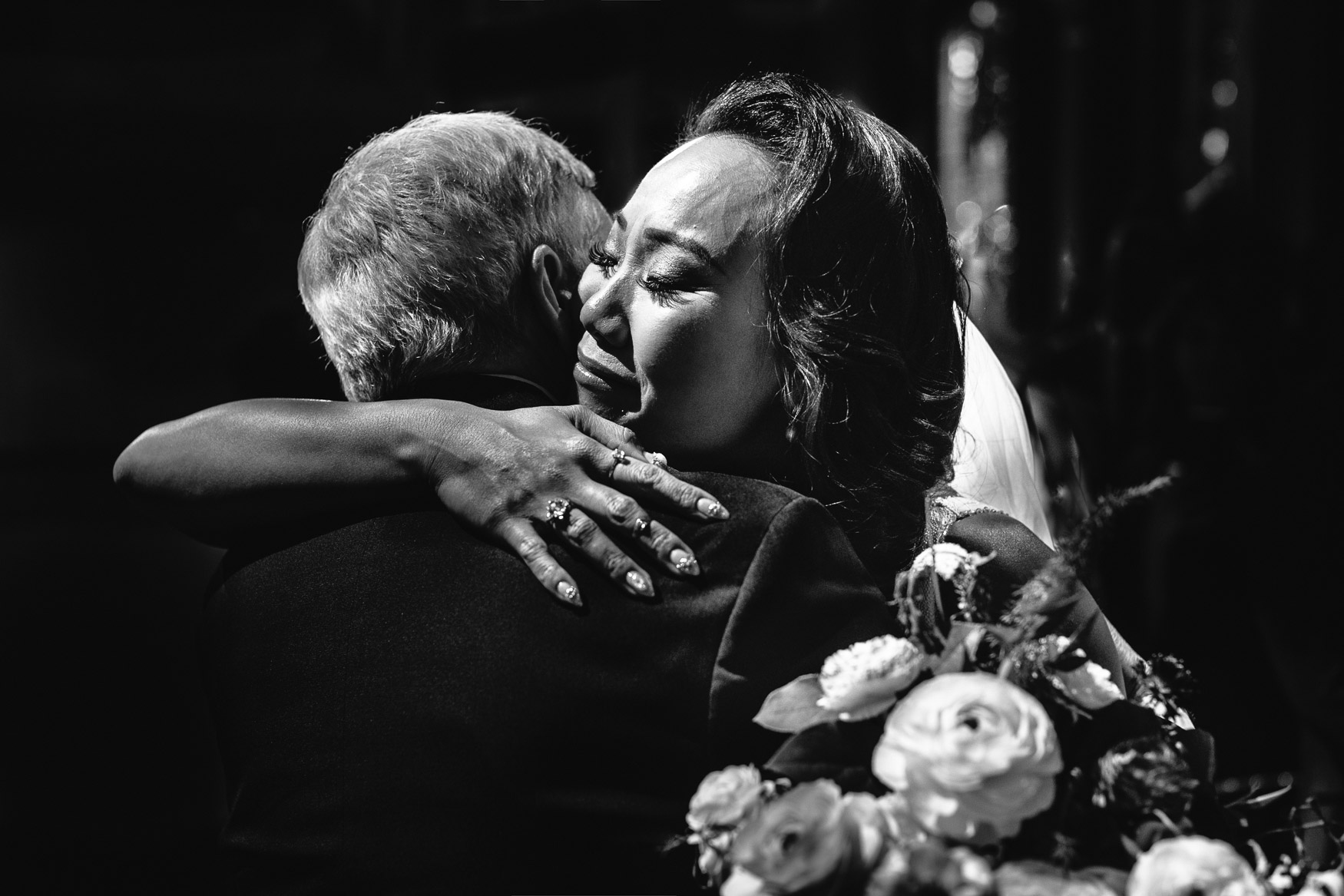 Emotional Asian Wedding Ceremony photo at Vibiana