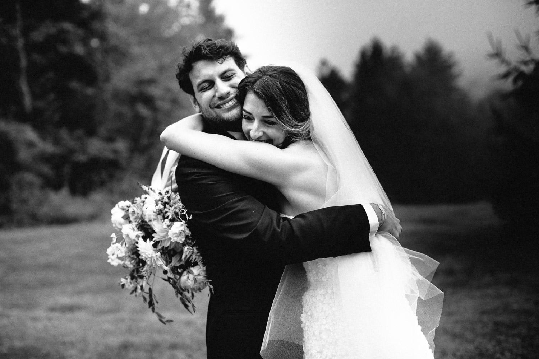 Cedar Lakes Estate Jewish Wedding Photo Just Married
