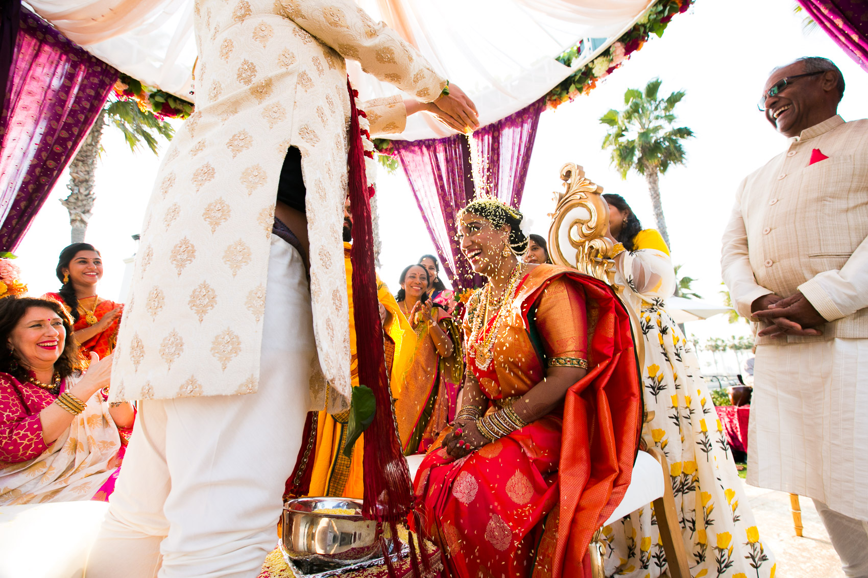 Hyatt Huntington Beach Indian Wedding
