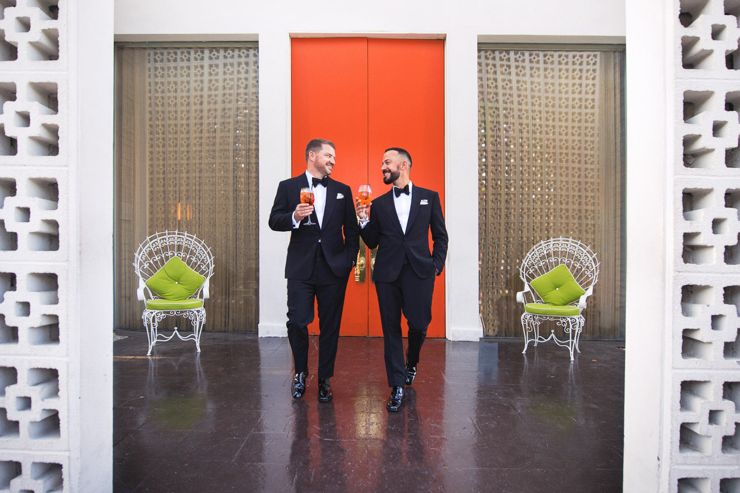 Stunning Same Sex Wedding at the Parker Palm Springs