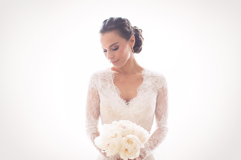 Bride Portrait at Hotel Bel-Air Wedding