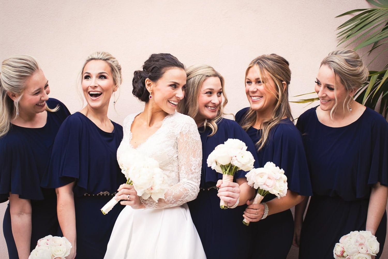 Bridesmaid inspiration at the Hotel Bel-Air