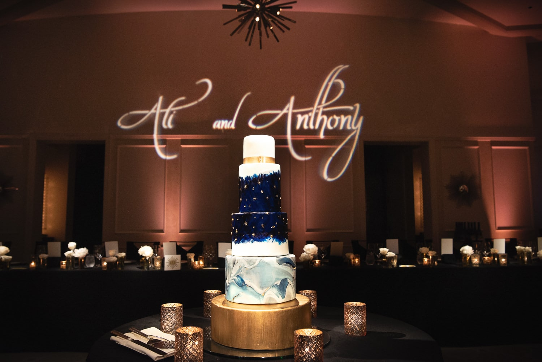 Hotel Bel-Air wedding cake