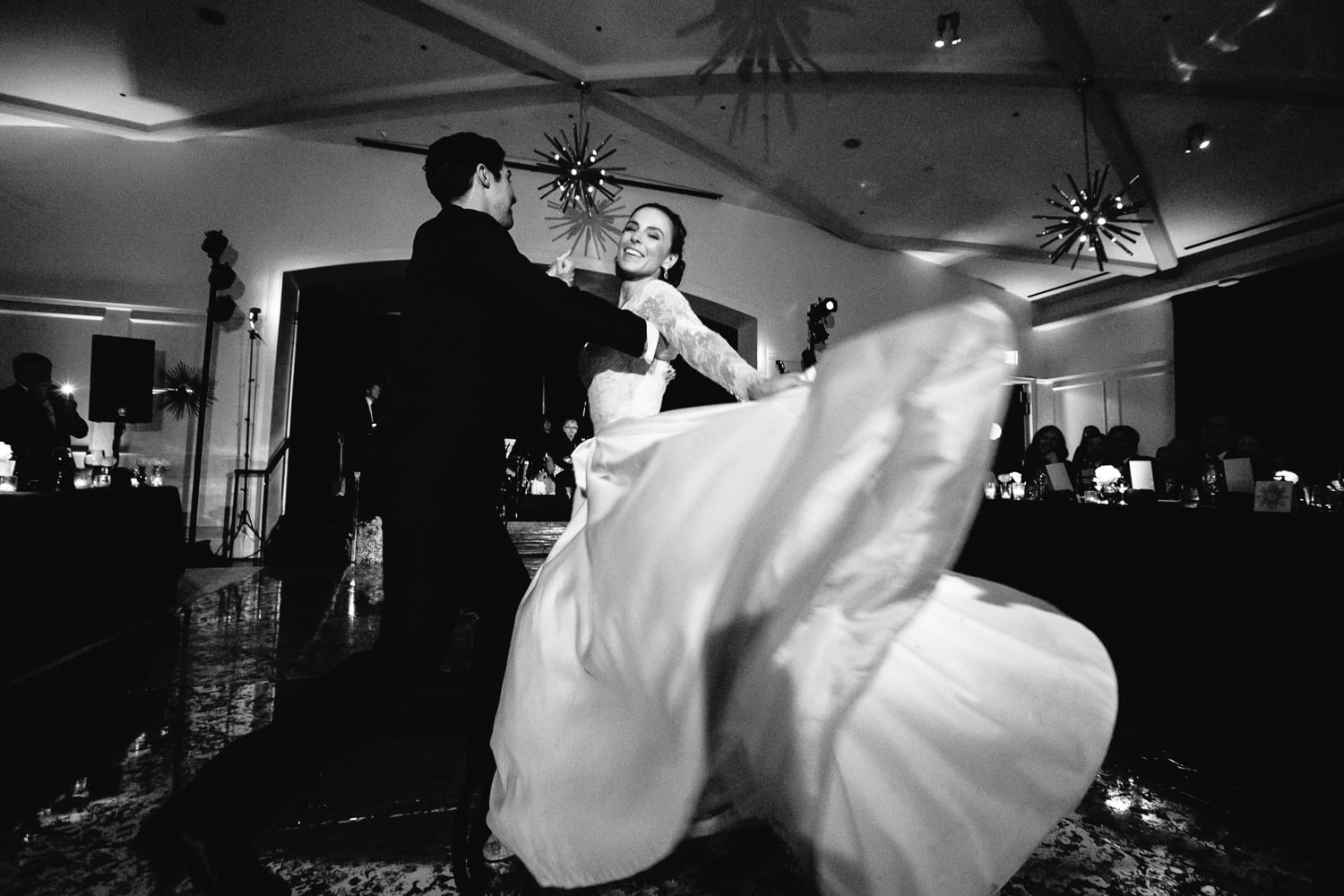 Wedding First dance at the Hotel Bel-Air