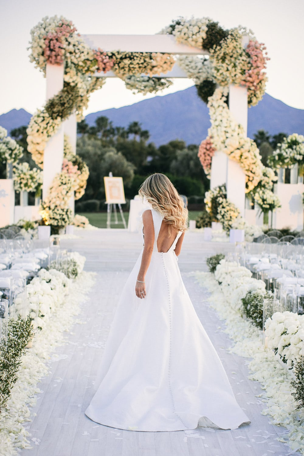 Luxury Palm Springs wedding in La Quinta by Palm Springs