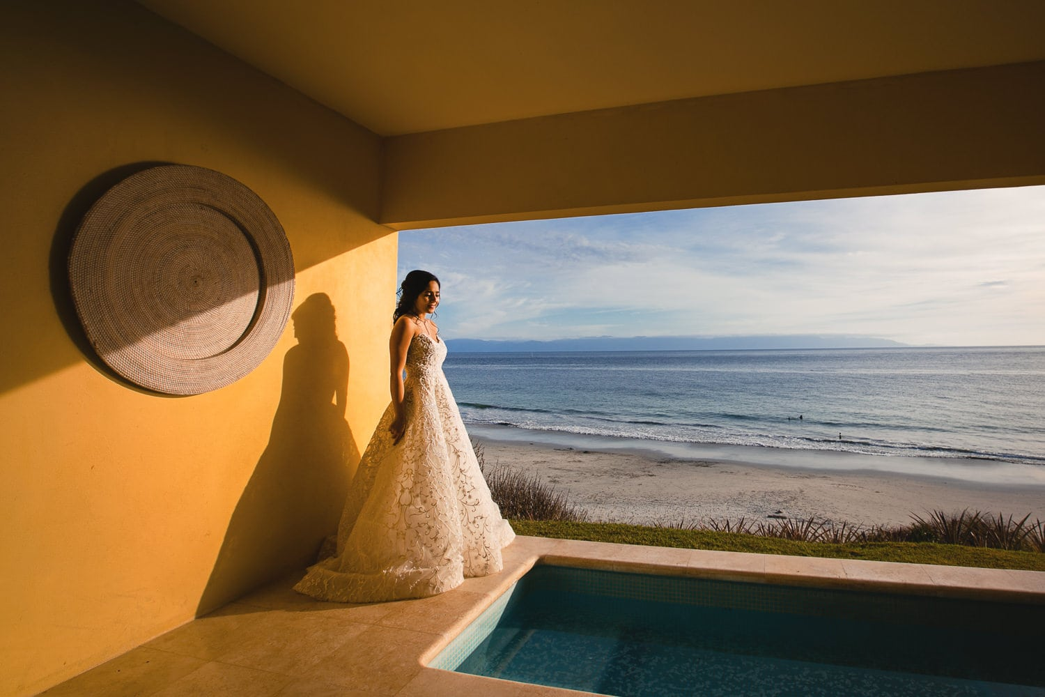 Punta Mita Bride at Sunset