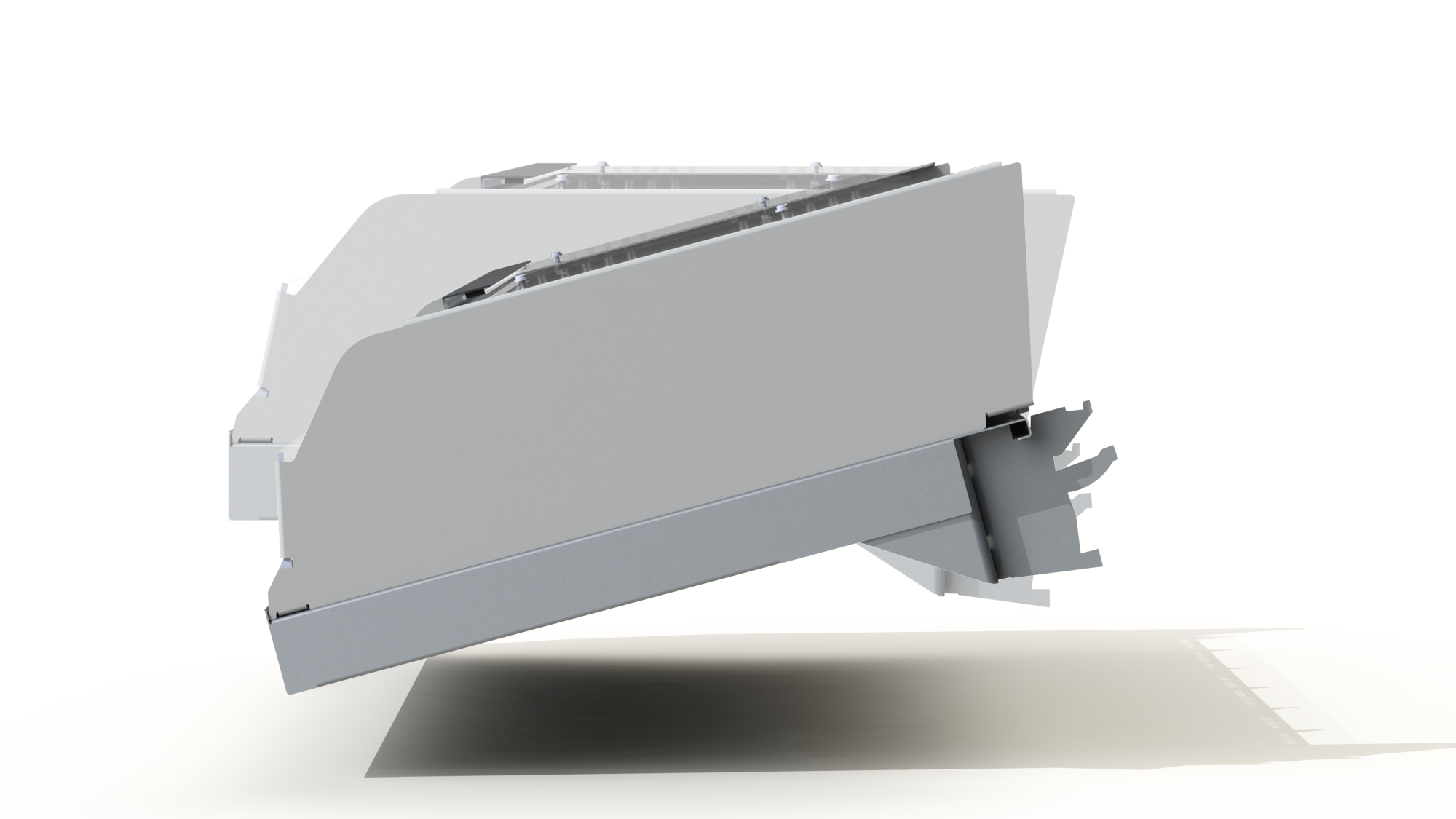 IT ALL DEPENDS ON THE RIGHT ANGLE  Our versatile bracket system fits most existing store fixtures and allows for 2 different shelf angles.