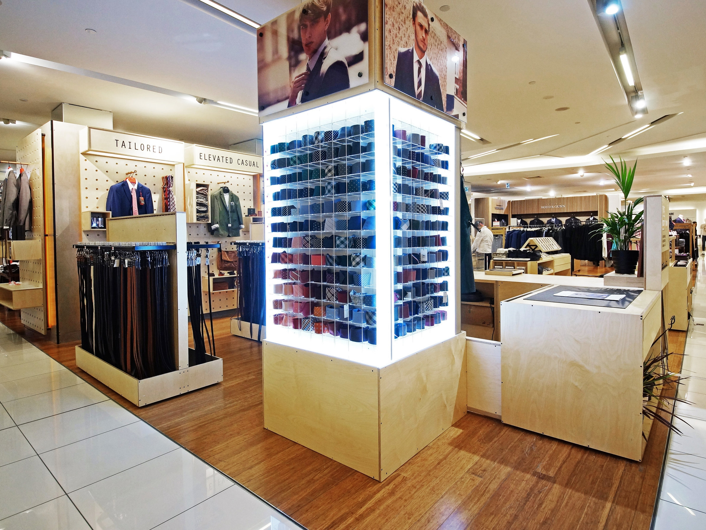 SHOP-IN-SHOP  Need everything floor to ceiling? We have you covered. With local and overseas production as well as strong alliances with our manufacturers, we will make sure your new look will hit the mark.  >>  find out more
