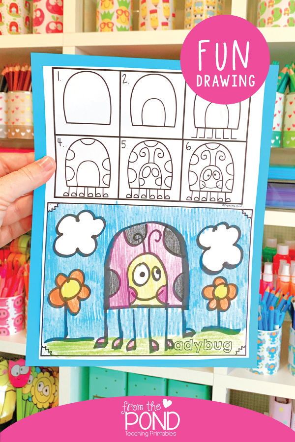 The 'Classic Draw' project is one of 4 projects styles to choose from in your printable pack!