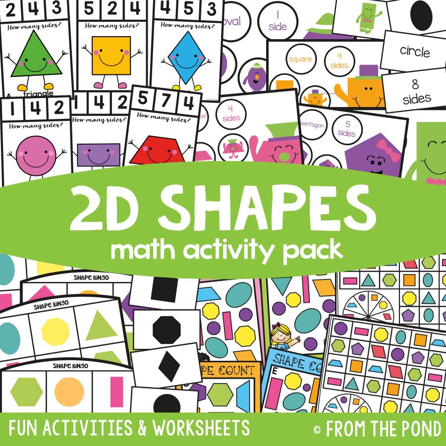 Math Pack 3 - 2D Shapes