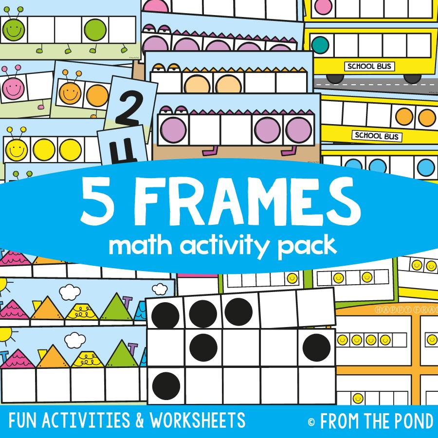 Math Pack 4 - Five Frames