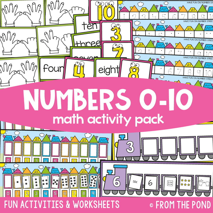 Math Pack 6 - Numbers 0 to 10