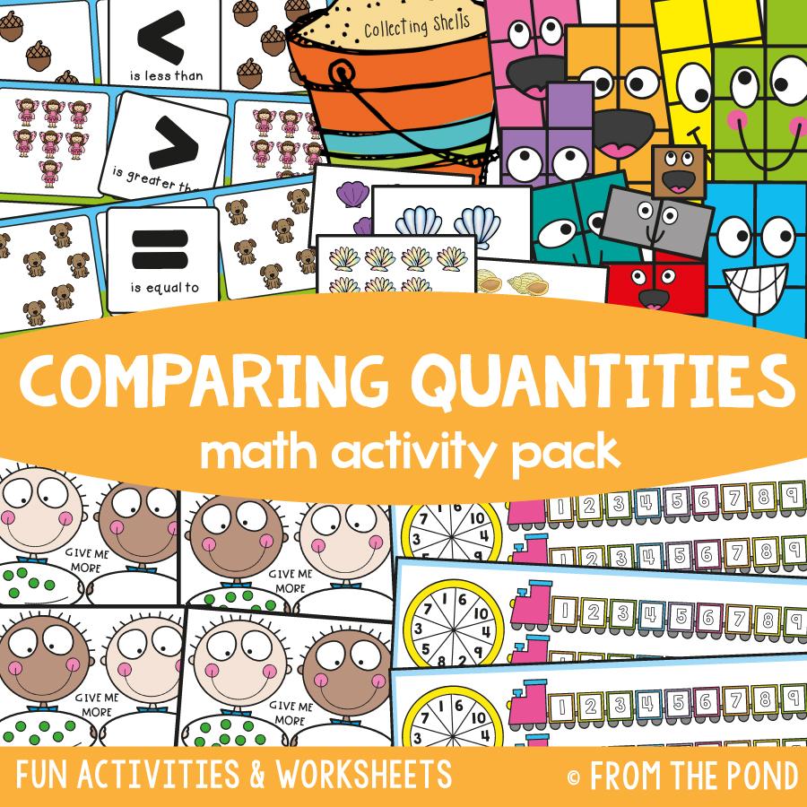 Math Pack 8 - Comparing Quantities